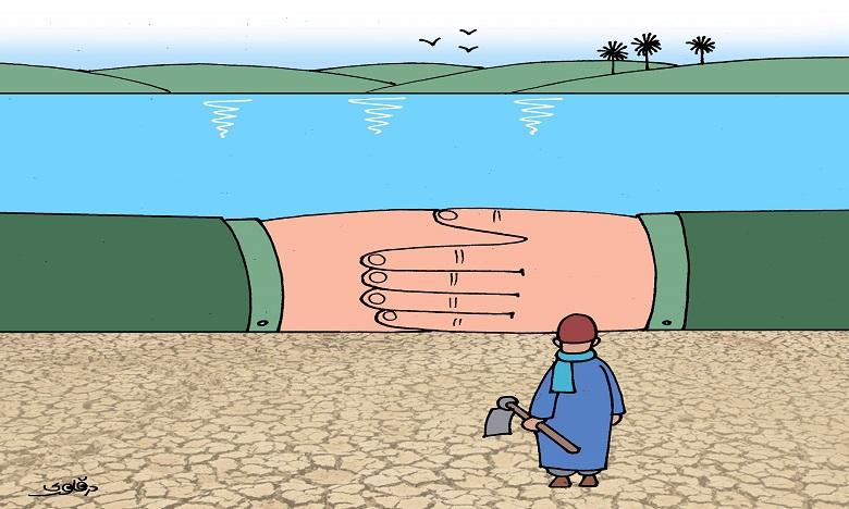 احتكار الثروة المائية