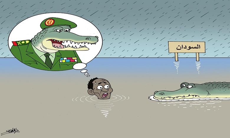 الفيضانات تضرب السودان