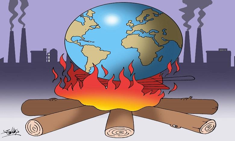 تزايد مخاطر الاحتباس الحراري