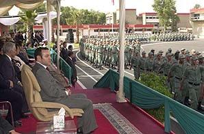 S.M. le Roi préside une cérémonie à l'occasion du 46e anniversaire de la Sûreté nationale