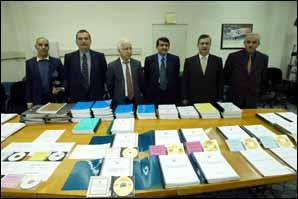 Baghdad soumet sa déclaration sur son armement à l'ONU