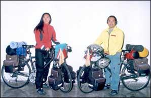 Un tour du monde à vélo en guise de lune de miel