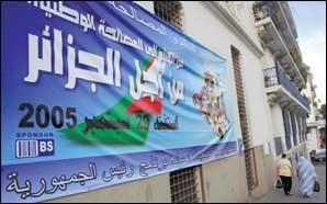 Un référendum sur le projet de réconciliation nationale : Les Algériens appelés aux urnes