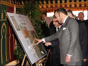 S.M. le Roi lance les travaux de réalisation du projet de Technopolis de Rabat-Salé