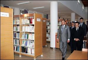 S.M. le Roi Mohammed VI inaugure la bibliothèque Prince Bandar Ben Soltane d'Asilah