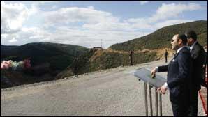Le Souverain donne le coup d'envoi des travaux de construction du barrage Oued Rmel