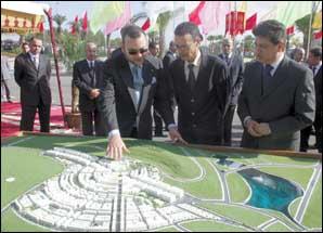 S.M. le Roi donne le coup d'envoi de la création d'un nouveau pôle urbain à Tanger