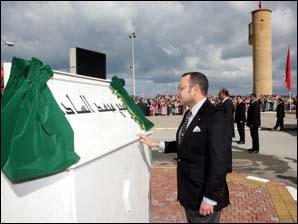 S.M. le Roi inaugure le boulevard Mohammed VI à Tanger