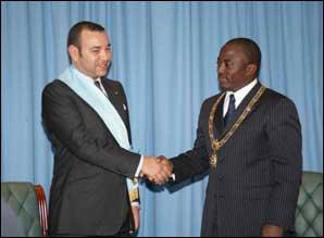 S.M. le Roi et le chef de l'Etat congolais président la signature de six accords de coopération