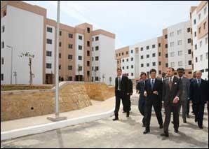 S.M. le Roi inaugure la 2e tranche du projet de relogement des ménages du bidonville de Ben M'sick à Casablanca
