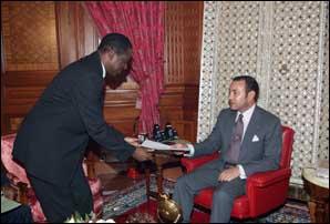 S.M. le Roi reçoit un émissaire du Président de la RDC