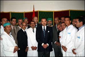 S.M. le Roi inaugure, à Meknès, l'hôpital Mohammed V après sa rénovation et sa réhabilitation