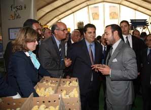 S.M. le Roi inaugure, à Meknès, le premier Salon international de l'agriculture du Maroc