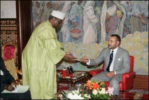 S.M. le Roi reçoit un émissaire du Président togolais