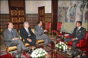 S.M. le Roi Mohammed VI reçoit François Hollande