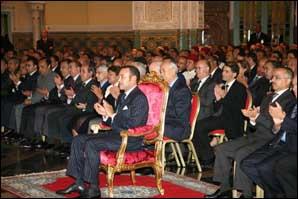 S.M. le Roi préside à Casablanca la cérémonie de présentation des programmes de l'INDH