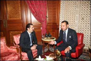 S.M. le Roi reçoit Saâd Rafiq Hariri, leader du courant parlementaire l'Avenir au Parlement libanais