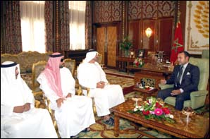S.M. le Roi Mohammed VI reçoit le Prince héritier d'Abou Dhabi