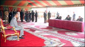 S.M. le Roi préside à Tétouan la cérémonie de signature d'une convention de partenariat