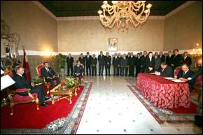 S.M. le Roi Mohammed VI et Vladmir Poutine président la signature de plusieurs accords de coopération