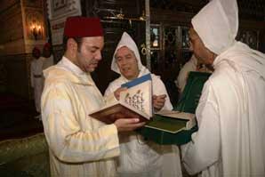 S.M. le Roi Mohammed VI préside la première causerie religieuse du mois de Ramadan