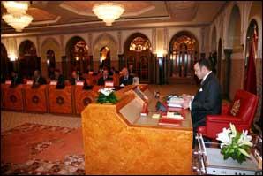 S.M. Mohammed VI préside un Conseil des ministres qui adopte le projet de loi de Finances 2007