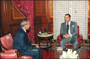 Le Souverain reçoit le directeur général de l'Agence Bayt Mal Al-Qods