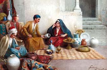 Le Matin - La peinture orientaliste s'expose