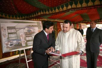 S.M. le Roi préside la signature d'une convention sur le programme de requalification urbaine d'Azrou