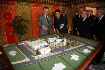 S.M. Mohammed VI lance le programme de requalification du quartier Zafati à Rabat