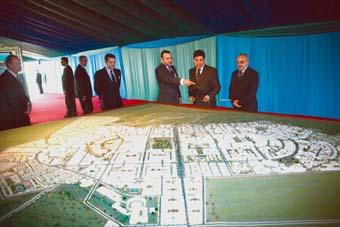 Création de la nouvelle ville de Tamesna
