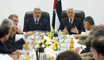 Palestine : Le gouvernement d'union nationale se réunit