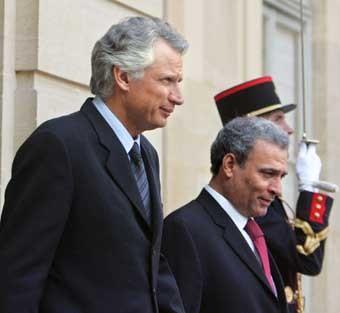 Deux ministres palestiniens en Europe