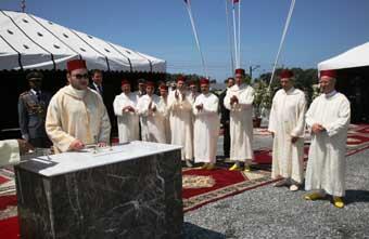 S.M. le Roi lance la construction du nouveau siège de Dar El Hadith El Hassania