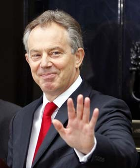 La nomination de Blair applaudie