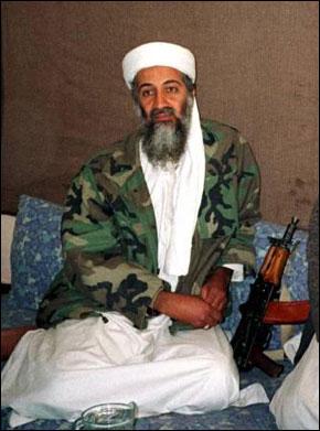 Le chef d'Al-Qaida, Oussama Ben Laden.  (Photos : www.interet-general.info)