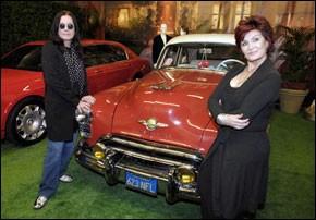 Des objets de la famille Osbourne aux enchères à Los Angeles