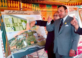 Le Souverain inaugure et lance plusieurs projets économiques, 116iaux et culturels à Safi