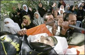 Quatre Palestiniens tués par des tirs israéliens à Gaza