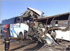 21 morts et 1113 blessés dans le périmètre urbain