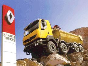 Berliet commercialisera les poids lourds de Nissan
