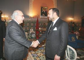 S.M. le Roi reçoit un émissaire du Président tunisien