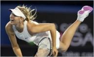Sharapova montre à Davenport le chemin à parcourir