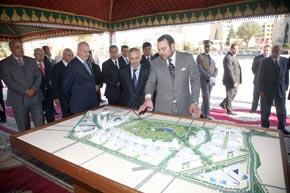 S.M. le Roi lance le projet d'aménagement intégré «Fès City Center» pour des investissements de 5 milliards de DH