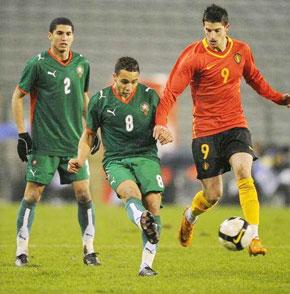 Le Maroc assomme la Belgique