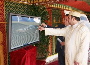 S.M. le Roi lance à Beni Mathar la construction d'une centrale thermo-solaire au coût de 4,6 milliards de dirhams