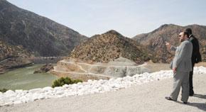 S.M. le Roi inaugure à Ouirgane le barrage Yacoub El Mansour au coût de 630 MDH