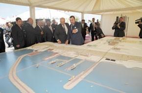 S.M. le Roi préside à Jorf Lasfar la signature d'un mémorandum d'entente entre l'OCP et Libya-Africa Investment Portfolio portant sur 1 milliard de dollars