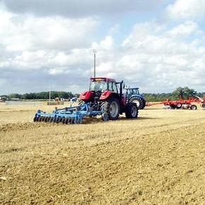 Campagne agricole normale pour les céréales