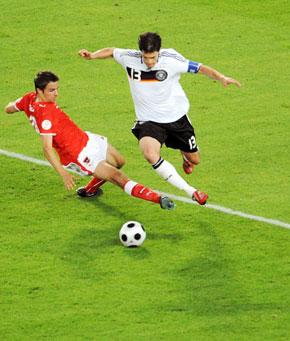 L'Allemagne en quarts de finale